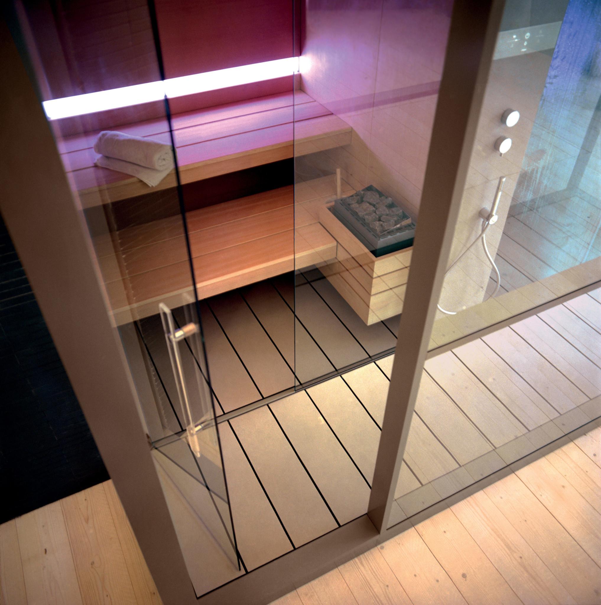 Sistema sauna e hammam Logica di Effe Perfect Wellness