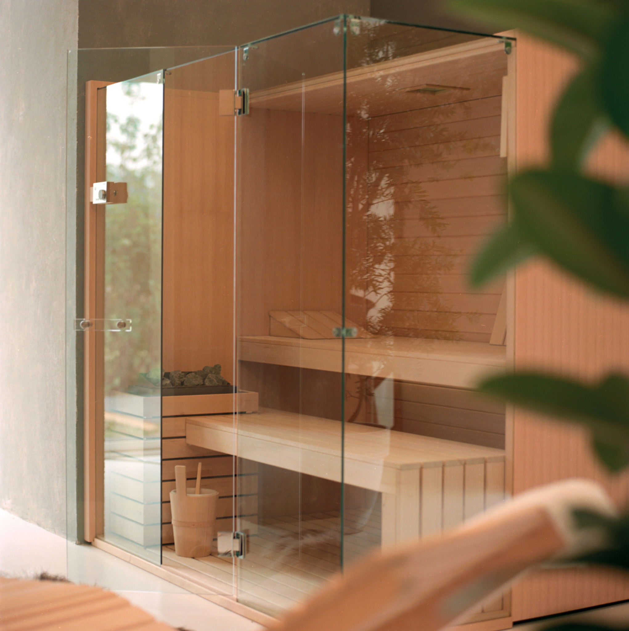 Sauna SkyCorner di Effe Perfect Wellness