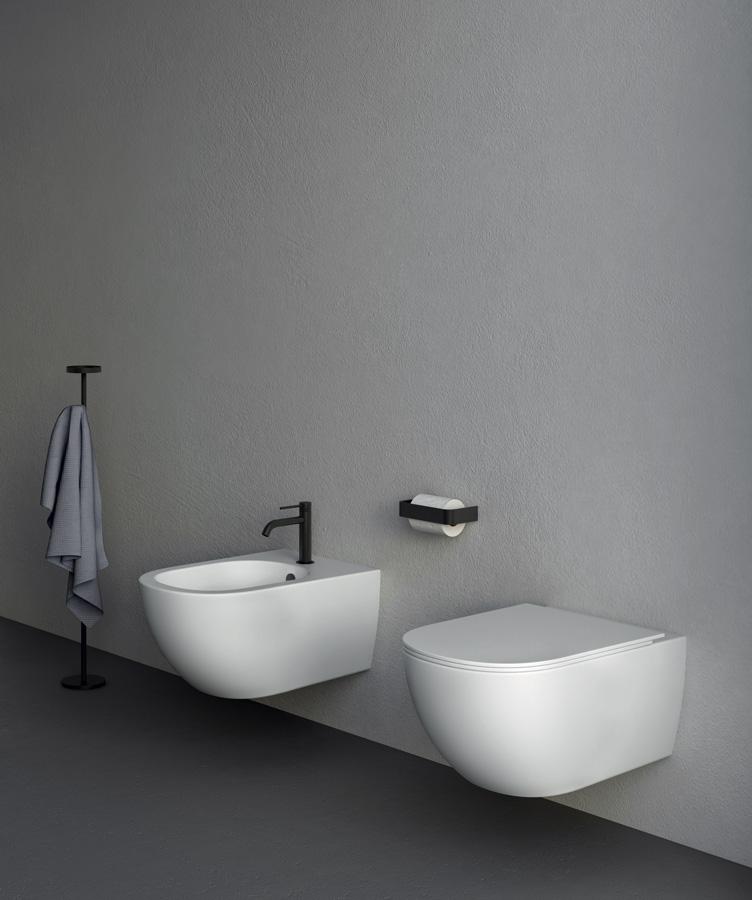 I sanitari sospesi di NIC Design sono belli, di design e facili da pulire